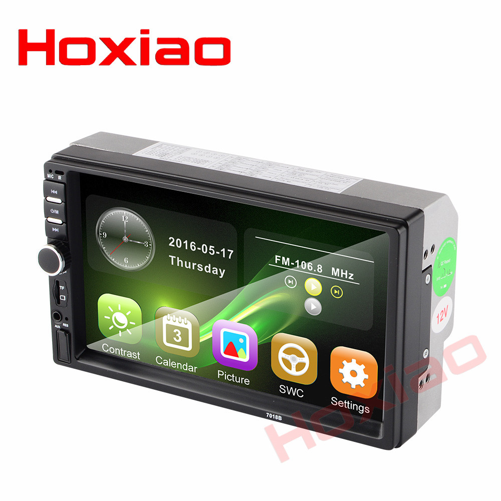 2 din car radio 7 HD Touch Screen Player MP5 SD FM MP4 MP3 USB AUX