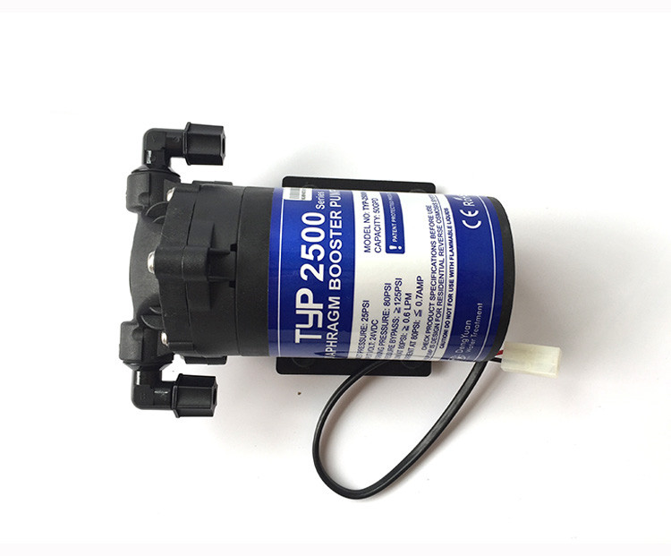 reverse osmosis booster pump 50/70 gpd  TYP-2500 Reverse osmosis pump Water filters for water купить