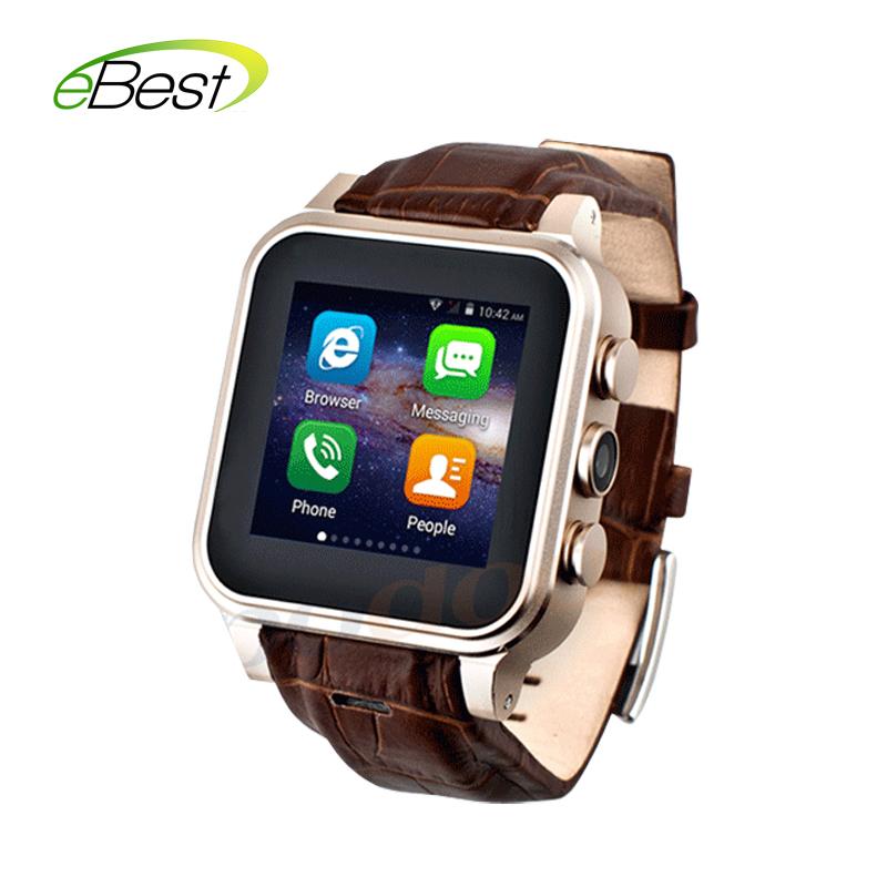 Prix pour Date Podoor PW308S adulte Poignet Intelligent Montre téléphone 8G ROM 3G WCDMA GPS Boussole WIFI Bluetooth Montre Android mobile téléphone