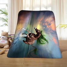 P#84 Custom Horse#3 Home Decoration Bedroom Supplies Soft Blanket size 58×80,50X60,40X50inch SQ01016@H+84