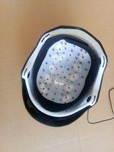 Casco de tratamiento contra la caída del cabello crecimiento del pelo del laser de masaje de cabeza cap 64 diodos médica crecer el pelo casco + gafas + masaje peine