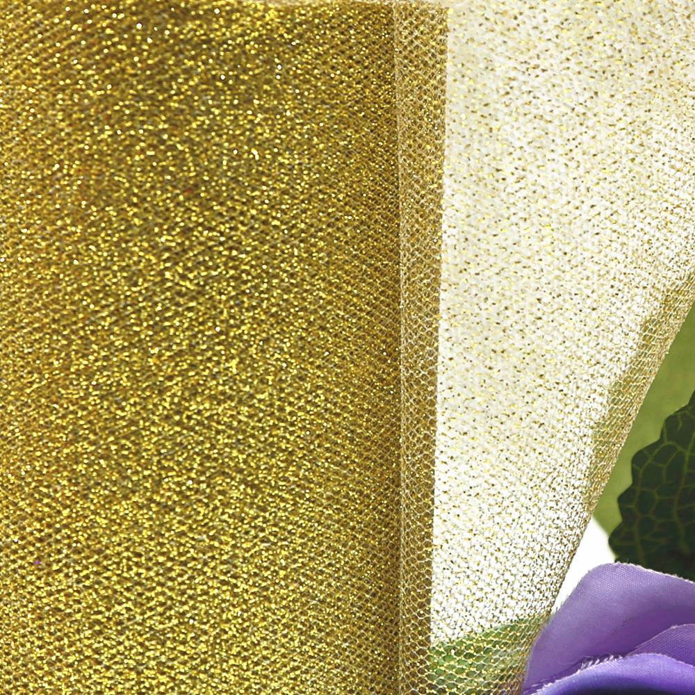eid mubarak decoration Shimmering OrganzaTulle Roll 6x25yd Tutu Tulle Roll Party Birthday Gift Wrap Wedding garden decoration