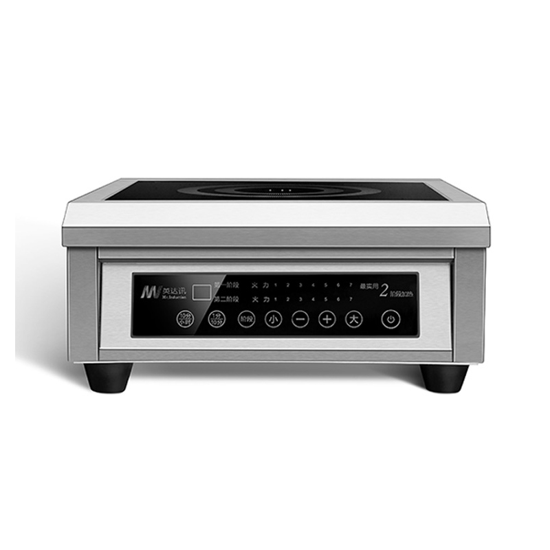 Commercial Induction Cooker Flat High Power Induction Cooker Industrial Cooker Hotel Stove Furnace Drum Sink 6KW 2 Stages