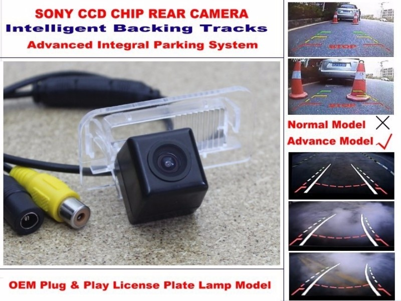 For Mercedes Benz MB A Class W169 2004~2012 Intelligent Car Parking Camera  with Tracks Module Rear Camera CCD Night Vision (3)