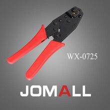Купить с кэшбэком WX-0725 crimping tool crimping plier 2 multi tool tools hands Ratchet Crimping Plier (European Style)