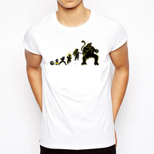 Dragon Ball Z White T-Shirts (27 Models)