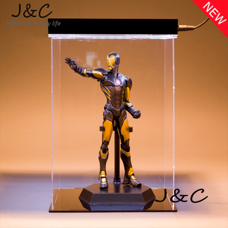Hot The Avengers IronMan Action Figure 21cm Black Iron Man Doll PVC ACGN figure Toy Brinquedos Anime kids toys hot the avengers ironman action figure 17 5cm mk42 mk43 iron man doll pvc acgn figure toy brinquedos anime kids toys