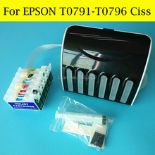 1 Set Continuous Ink Supply System For Epson For Epson 1400 1430 1500W P50 PX650 PX660 PX710W Printer Ciss