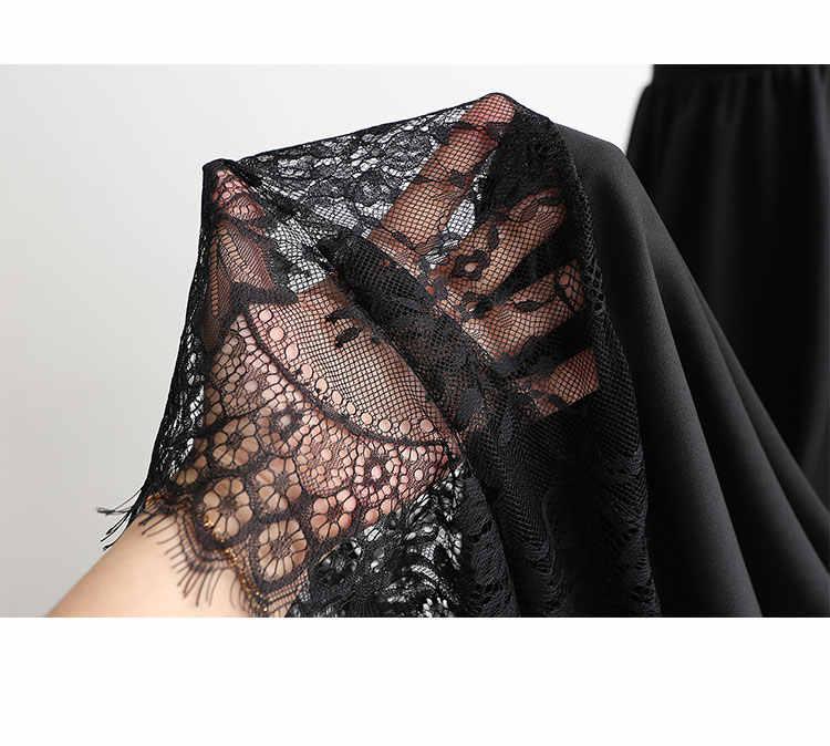 裏地スカート 105 センチメートル伸长 3 メートル裾 a ラインレース底スカート反射防止女性のアンダーハーフ女性の