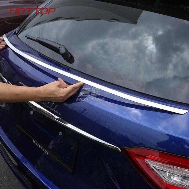 for Maserati Levante 2016 17 2018 Front Grill Decoration Strip Carbon Fiber Look