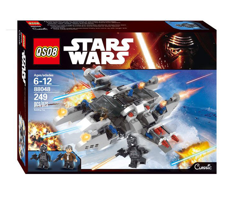 2016 New LEPIN Star Wars Building Blocks Snowspeeder Model Set Clone Minifigures Bricks Toys Compatible lepin Starwars