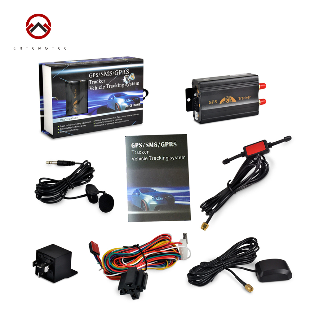 ФОТО Car GPS Tracker Coban TK103A GSM GPRS SMS Tracking Device SOS Geo Fence Cut Off Oil Power System Door Open Alarm Free Shipping