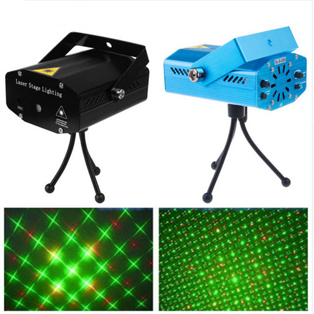 Mini RG Laser DJ Projector DJ Light Club Bar Dance Disco Light For Coffee Shop Bar Home Party Xmas DJ Effect Lighting Show 1Pc kingmax km16gsdhc10 sdhc 16gb class 10