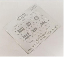 amaoe for EMMC EMCP BGA221 153 169 254 162 186 BGA Stencil Direct Heating Template 0.15mm Thickness 6 in 1(China)