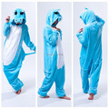 Hippopotamus One Piece Animal Cosplay Costum Onesies Pajamas Jumpsuit Hoodies Adults Cosplay Costumes for Halloween and Carnival