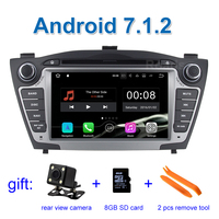 2GB RAM Quad Core 1024 600 Pure Android 7 1 Car DVD For Hyunda IX35 Tucson