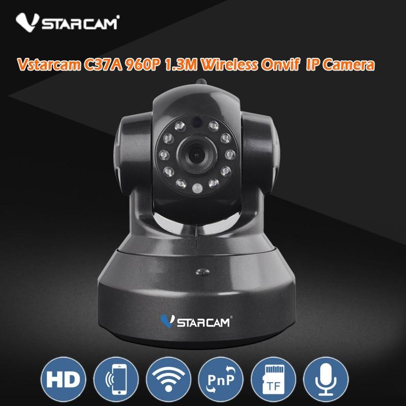Vstarcam C37A Black 960P P2P IP Camera WIFI Home Security Surveillance System Onvif  Phone Remote Video Surveillance Cameras npl p 43 37 купить