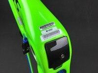 Лидер продаж велосипедная углеродная рама T1000 глянцевая отделка swk Красный Черный углерода фреймов + основа + руль vas Велосипеды фреймов в на
