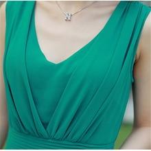 Summer Sleeveless Boho Chiffon Long Dress