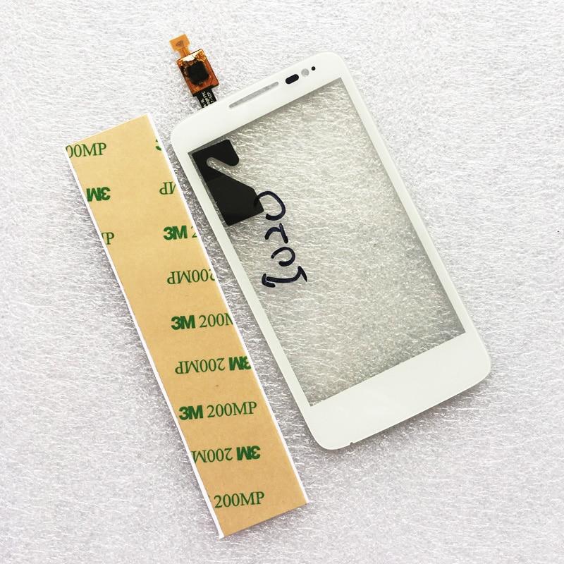 4.0 pollice Touch Screen Per Alcatel One Touch M'Pop OT5020 5020 5020d Touch Screen Digitizer Nero Bianco
