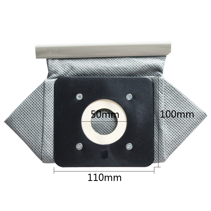 Washable Vacuum Cleaner Filter Dust Bag For Philips Electrolux LG Haier Samsung Vacuum Cleaner Cloth Bags 11x10cm
