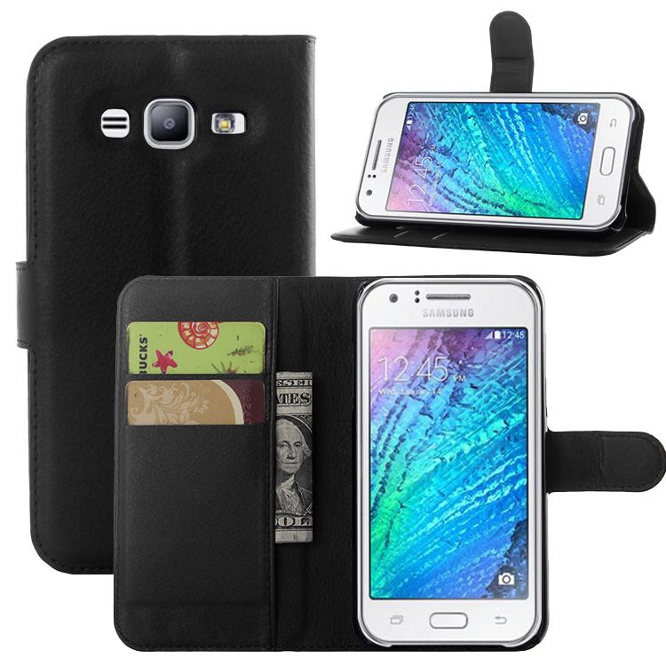 For Samsung galaxy J1 J2 J3 J5 J7 J120 (J1 2016) J105 (J1 mini) J1 ACE J2 PRO J3 pro J510 J710 leather wallet stand phone case