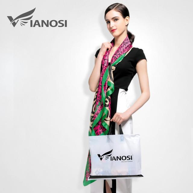 [ VIANOSI ] 2016 новый роскошный шарф женский шарфы женские шелковый платок высокого качества мягкий бандана обертывания бренд шарфик VA014