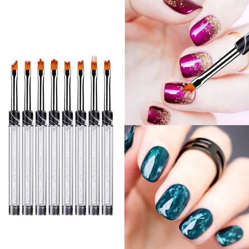 Aliexpress.com : Buy Multi Function Nail Art Paint Brush French Gel ...