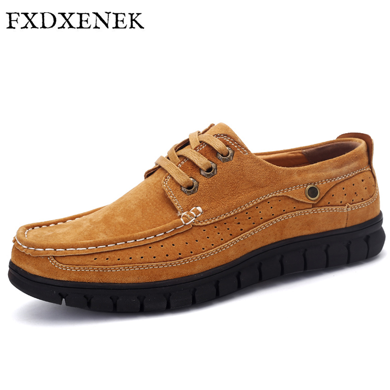 FXDXENEK Hot Sale Men Genuine Leather Shoes Fashion Men Shoes Soft Casual Flat Zapatos Hombre Trendy High Quality Men Shoes fast shipping wigs with bangs harajuku wig black brown natural hair long wig for women heat resistant synthetic wigs cosplay