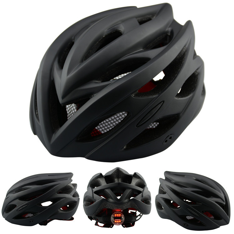 цены With Light Bicycle Helmet aero capacete Road MTB mountain XC Trail bike cycling helmet casco ciclismo helmet casque velo