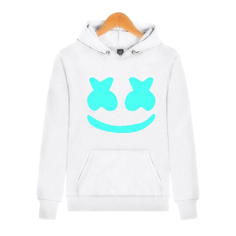 CapMask come Regali Marshmello felpe felpa uomo donna hip hop Rapper DJ  ballerino streetwear giacca con cappuccio cappotto tute 43f8b4550bec