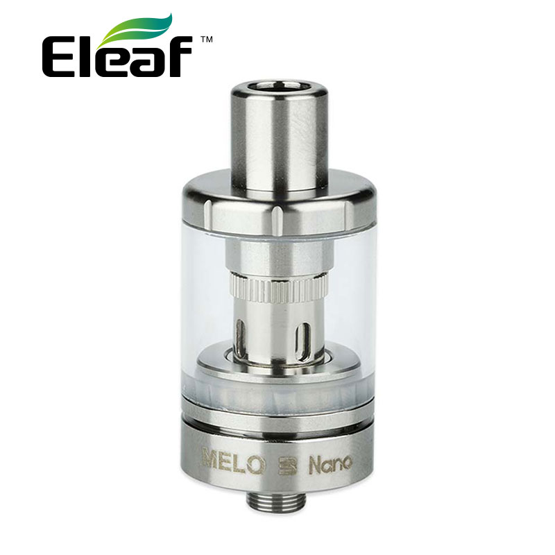 Original Eleaf Melo 3 Nano Atomizer 2ml With ECML 0.75ohm Head EC 0.3ohm Head Top E-juice Filling Fit Eleaf Stick Power Nano