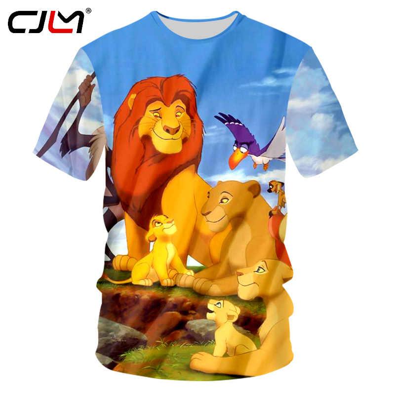 4c55e1c4 Detail Feedback Questions about CJLM Comic Simba Anime Tshirts Men 3d Funny Print  Lion King T shirt Summer Casual T Shirt Man Camisa Masculina Plus Size 7XL  ...