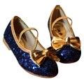 2017 nuevas muchachas lentejuelas shoes kids casual shoes shoes moda bebé niñas princesa niños shoes 3 color yy0667