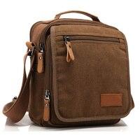 Multi Function Canvas Men Messenger Bag Male Crossbody Bag Casual Travel Business Handbags Bolsa Masculina HQB1790