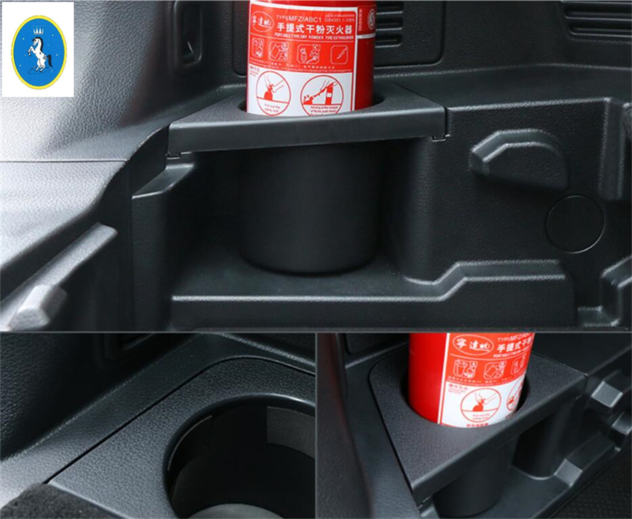 Yimaautotrims Auto Accessory Fire Extinguisher Holder Case Cover Trim Fit For Nissan Rogue X trail T32 5 Seat Model 2017 2019 in Interior Mouldings from Automobiles Motorcycles