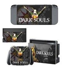 Dark Souls Skin Sticker vinyl for NintendoSwitch Sticker Skin for Nintendo Nintendo Switch NS Console and Joy-Con Controller