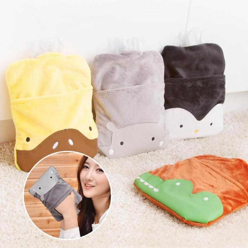 Cartoon Hand Po Warm Water Bottle Cute Hot Water Bottles Bag Portable Hand Warmer Water Injection Storage Bag Tools Lovely 3