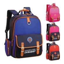 2017 New Fashion Orthopedic Schoolbag High Quality Nylon Children School Bags Mochila Escolar Infantil Primary Backpack Kids