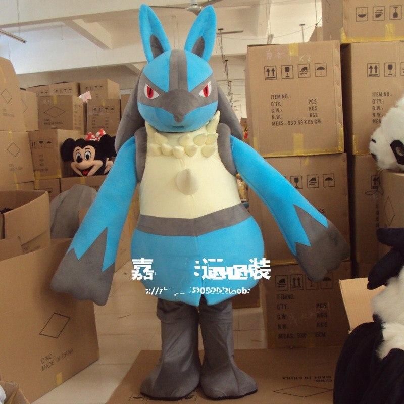 Lucario Mascot Pokemon Mascot Costume Cartoon Character ...