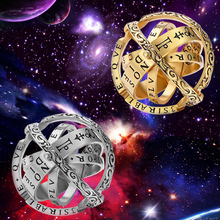 SG Dropshipping Lover Rotating Clamshell Astronomical Ball Rings Van Gogh Star Sky Couple Ring For Men Wedding Jewelry