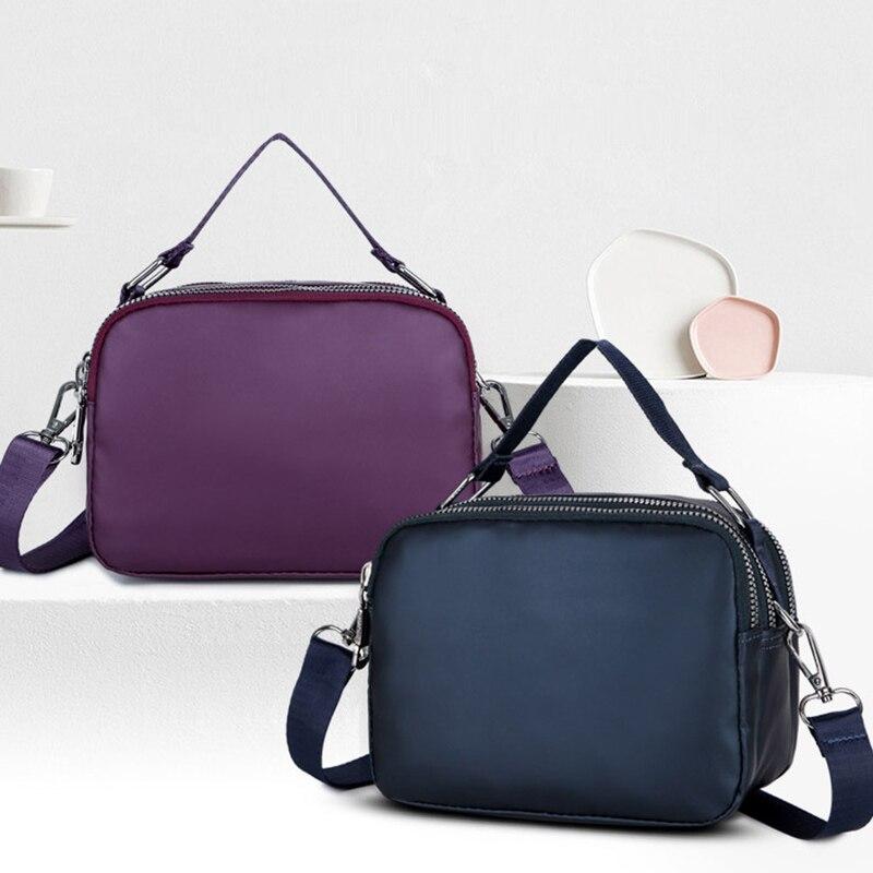 fb72af533604b 2019 nouveau mode femmes sac à main décontracté solide Simple Durable grande  capacité étanche sacs à