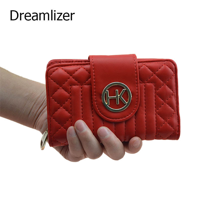 Brand Design 2017 High Quality Coin Purse Wallet Women Card Holder Candy Color Dollar Price Female Purse Hasp Bag women wallet 2017 high quality leather dollar price women purse card holder female purse with phone holder carteira feminina