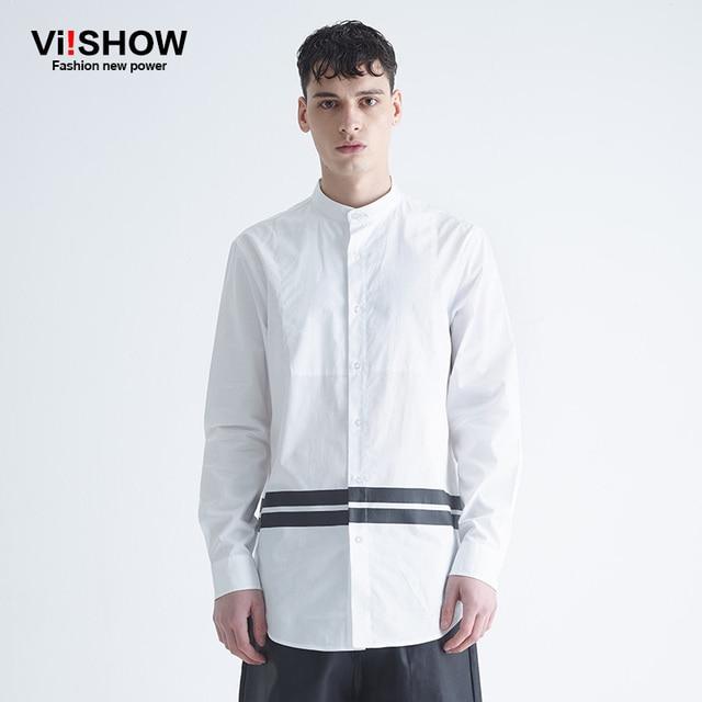 Viishow brand clothing new spring long sleeve shirt men dress ...