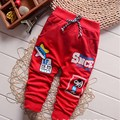 2016 Nuevos 4 Pantalones de Bebé de Algodón de Primavera de Color Estrella Patrón Niños Pantalones Del Bebé Pantalones de La Muchacha