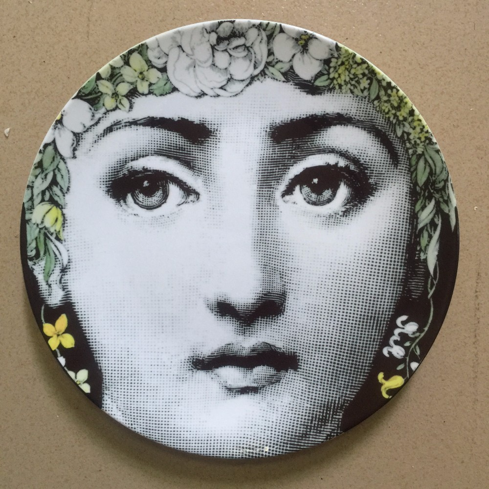 Decorative Face Plates Adorable 2016 New Design Pattern Italy Milan Rosenthal Piero Fornasetti Design Ideas