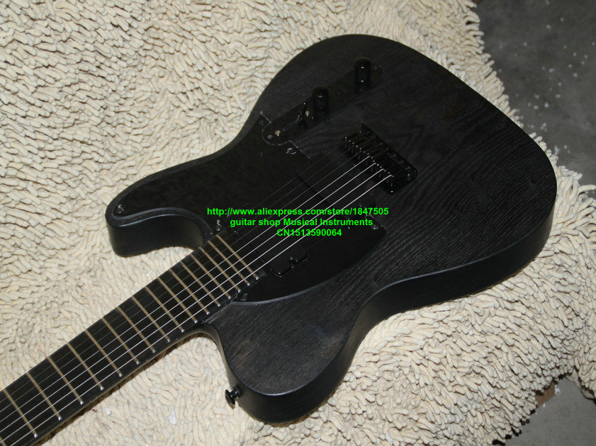 7 strings Electric Guitar Gray One piece Neck guitar New Arrival China Guitar Factory OEM Musical instruments electric guitar new tl guitar oem guitar guitar in china