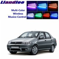 LiandLee For Fiat Albea / Siena 2002~2012 Car Install of Car Seats Accent Interior Atmosphere Light