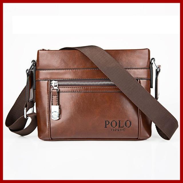 5e153141a341 ESCAR-Famosi Italiani degli uomini di Marca Piccola Borsa Business  Briefcase Messenger Bag In Pelle