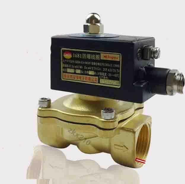 3/8 2 W serie ex-proof aria, acqua, olio, gas elettrovalvola in ottone valvola elettromagnetica3/8 2 W serie ex-proof aria, acqua, olio, gas elettrovalvola in ottone valvola elettromagnetica